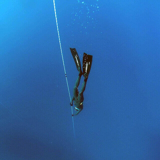 Free diving, a form a Apnea diving