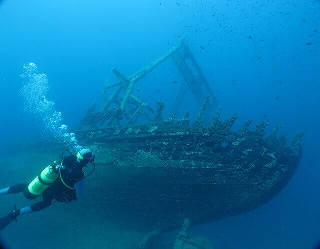 Wreck diving Croatia